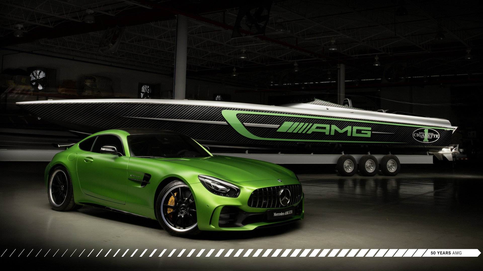 Speedboat Inspired By The Mercedes Amg Gt R