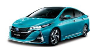 TRD and Modellista presented tuning packages for the Toyota Prius Plug-in