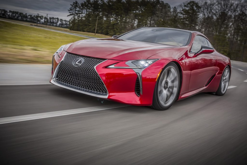 The Lexus LC F will produce 600 hp