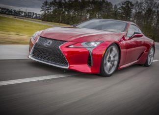 The Lexus LC F will produce 600 hp
