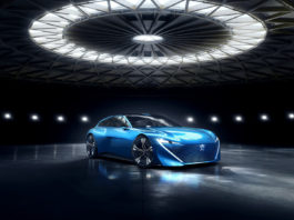The Peugeot Instinct Concept was officially presented