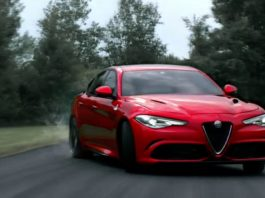 The promo videos of the Alfa Romeo Giulia for the Super Bowl