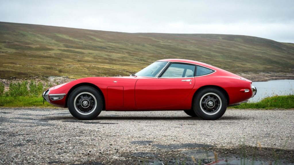 Toyota has restored a 2000GT