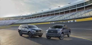 Toyota presented the Tundra and Sequoia TRD Sport and the RAV4 Adventure