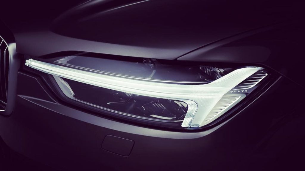 Volvo released new teaser photos of the XC60