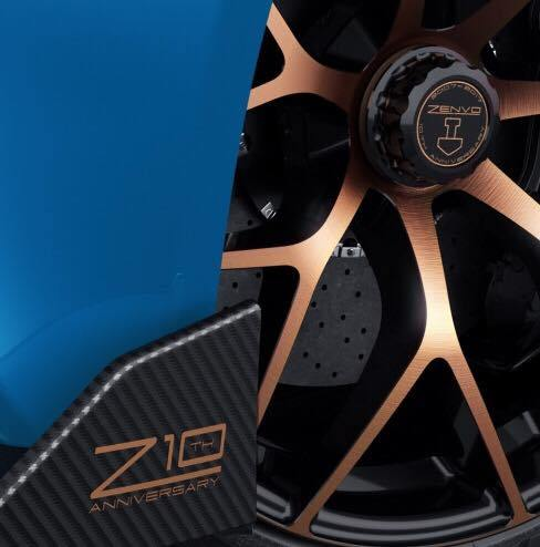 Zenvo teases the TS1 GT Anniversary