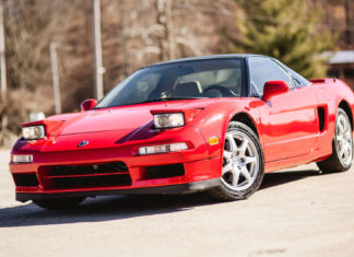 A 1999 supercharged Acura NSX is up for sale