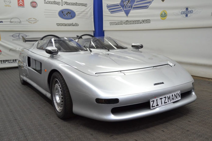 A very rare Italdesign Aztec is up for sale