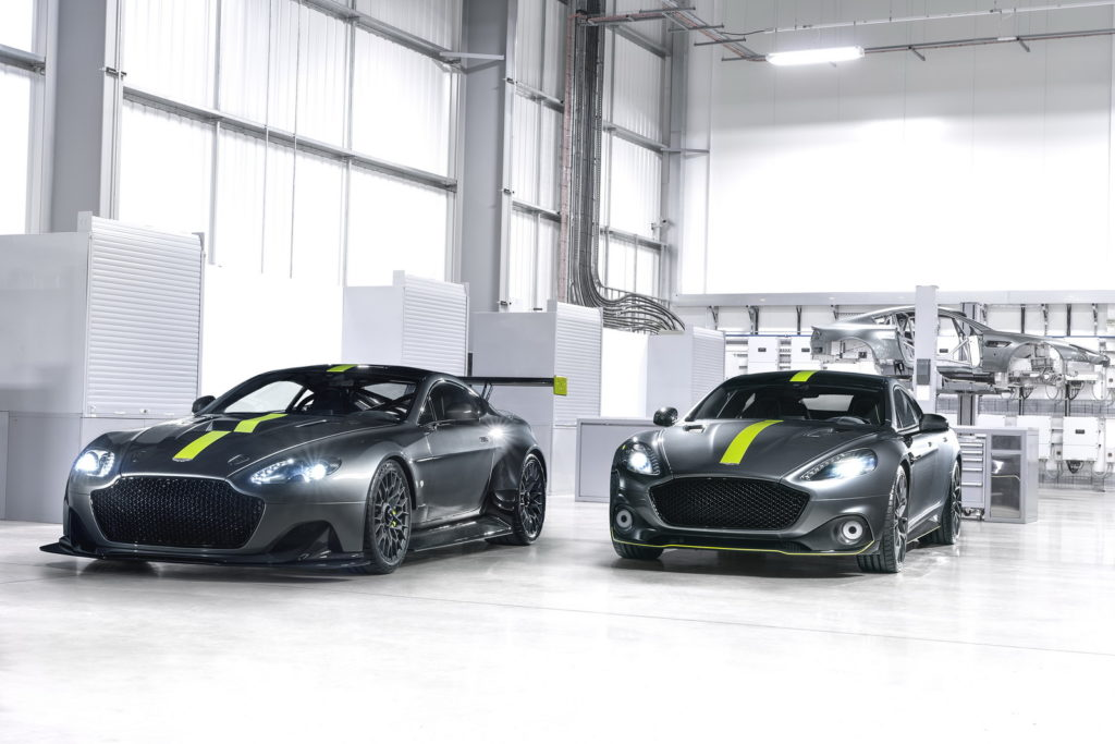 Aston Martin Rapide AMR and Vantage AMR Pro