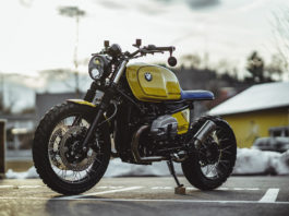 BMW R nineT Scrambler by NCT motorcycles