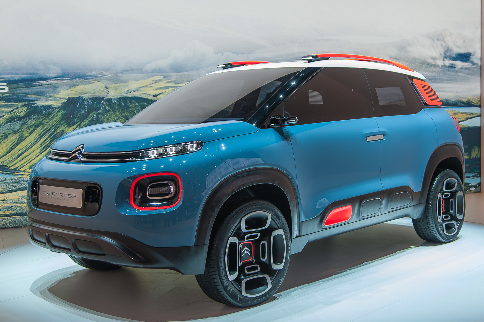 citroen c aircross concept. Black Bedroom Furniture Sets. Home Design Ideas