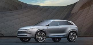 Hyundai Futuristic FE Fuel Cell Concept