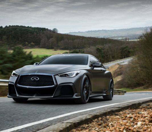 Infiniti presented officially the Project Black S