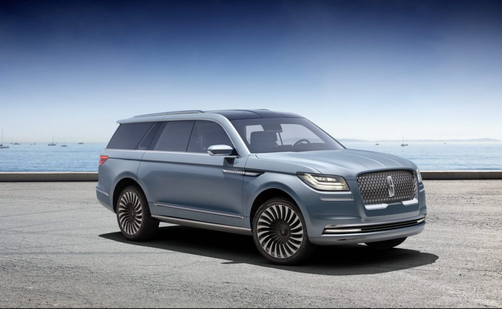 Lincoln will release a luxury SUV only for the Chinese market