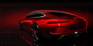 Mercedes teases the AMG GT concept