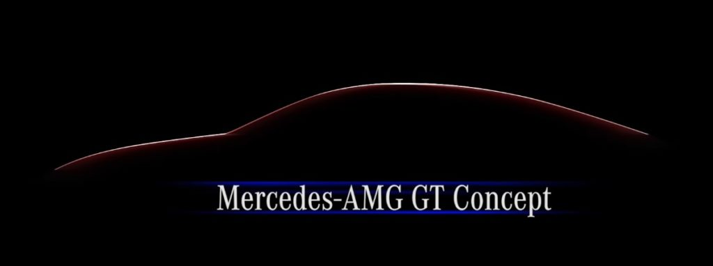 Teaser video of the Mercedes-AMG GT concept