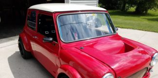1962 Austin Mini Cooper with an Acura engine for sale