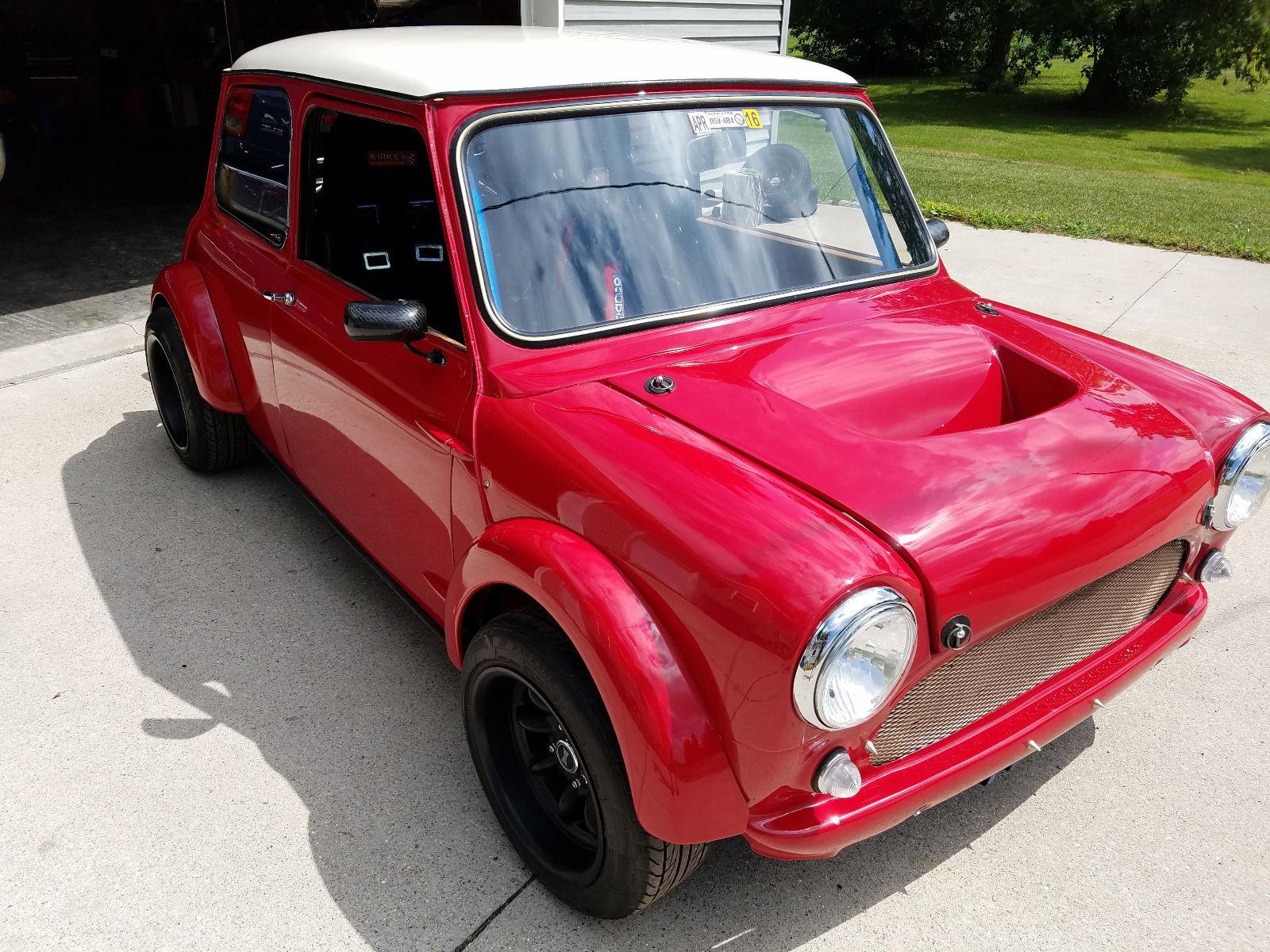 1962 austin mini cooper with an acura engine for sale vehiclejar blog. Black Bedroom Furniture Sets. Home Design Ideas