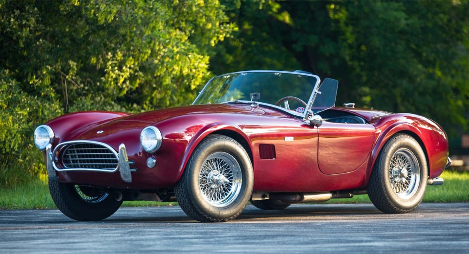 A 1965 Shelby 289 Cobra Roadster is heading to auction