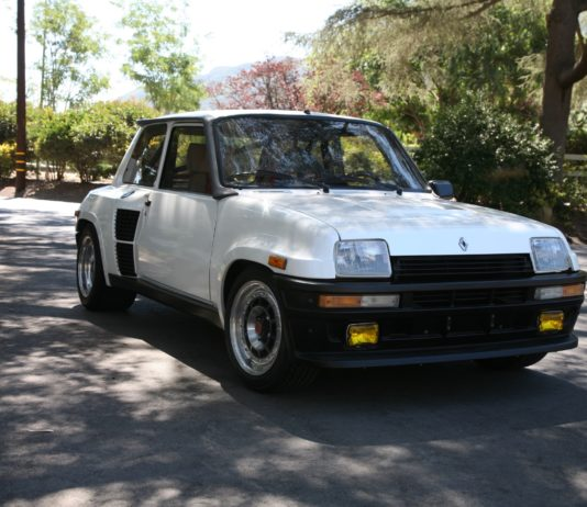 A gorgeous 1985 Renault R5 Turbo 2 is up for auction