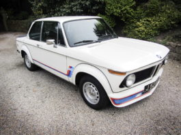 A magnificent BMW 2002 Turbo is heading to auction
