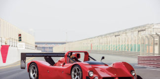 A racing 1994 Ferrari 333 SP is heading to auction