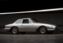 A very rare 1964 Maserati 5000 GT Coupe by Michelotti is headign to auction