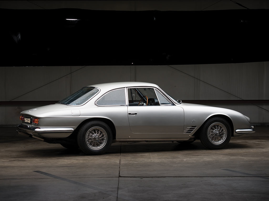 A very rare 1964 Maserati 5000 GT Coupe by Michelotti is headign to auctio