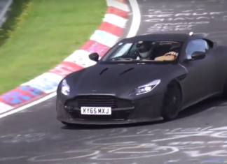 Aston Martin has brought the DB11 S at Nurburgring