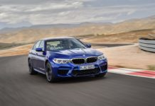 BMW presented officially the new M5