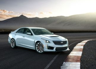 Cadillac CTS-V Glacier Metallic Edition