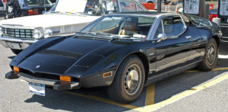 Car legends Maserati Bora