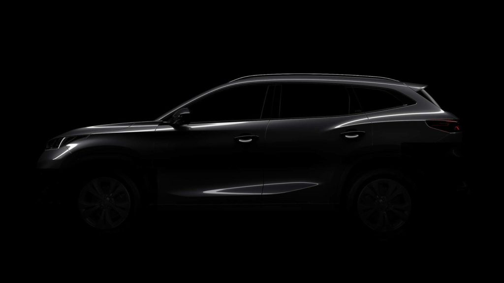 Chery teases a new SUV