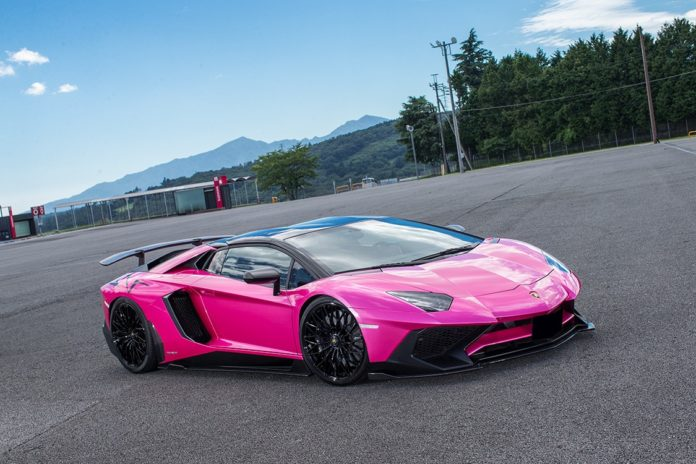 Lamborghini Aventador SV by Liberty Walk