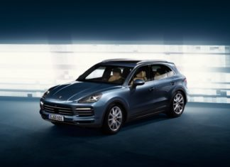 Leaked photos of the new Porsche Cayenne