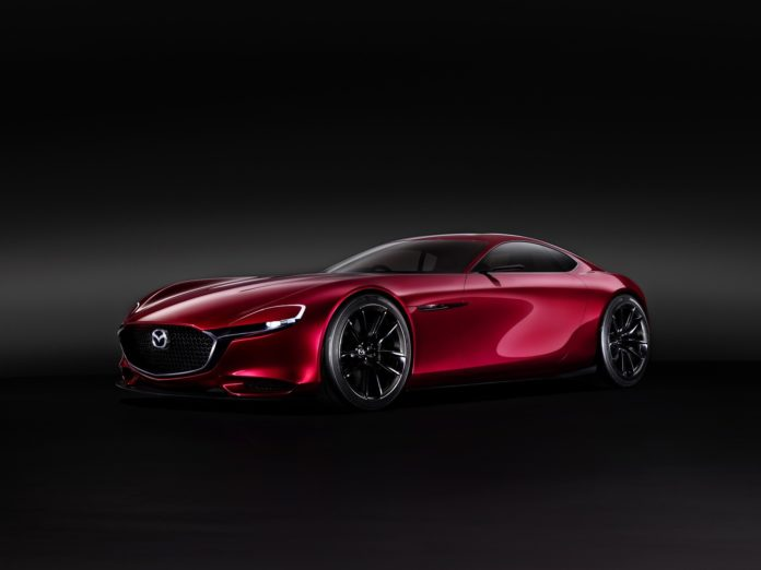 Mazda patents an engine with two turbos and an electric supercharger