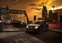 Nissan Titan, Titan XD and Frontier Midnight Editions