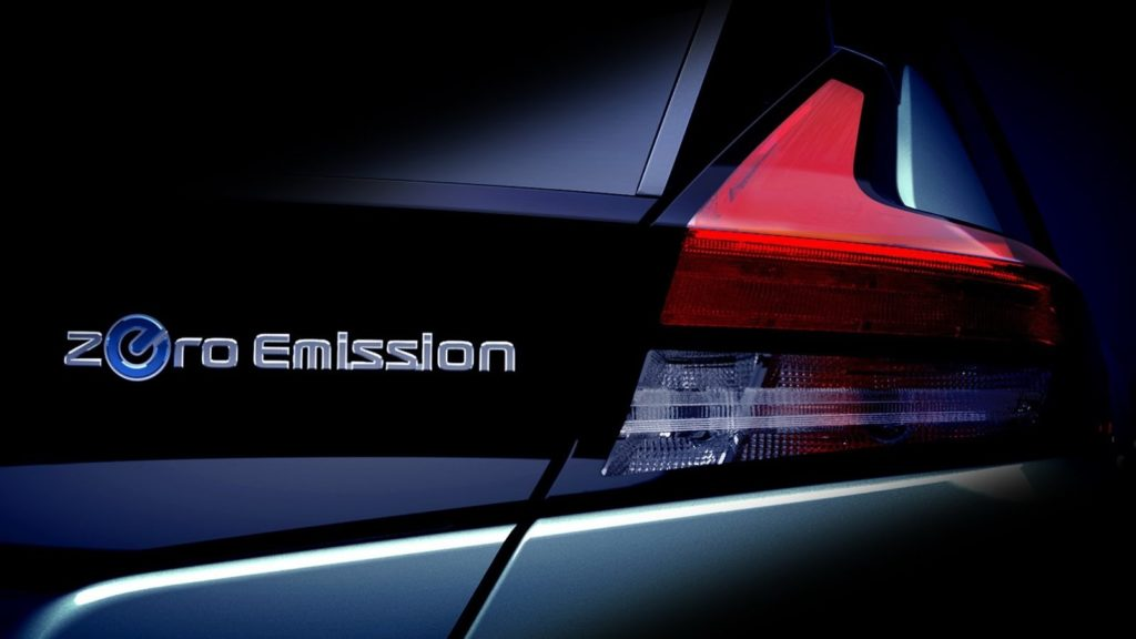 Nissan teases the new Leaf