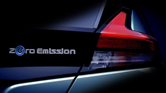 Nissan teases the new Leaf