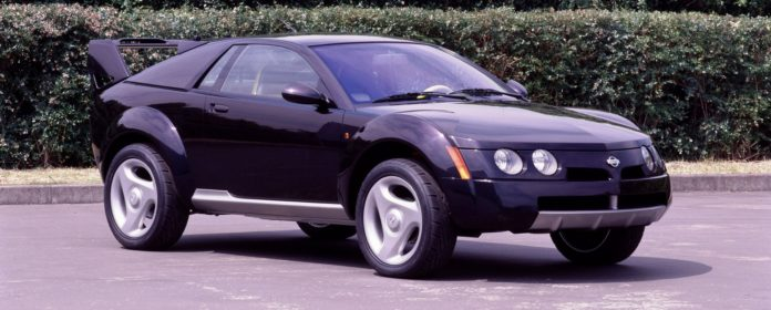Old Concept Cars Nissan Trail Runner