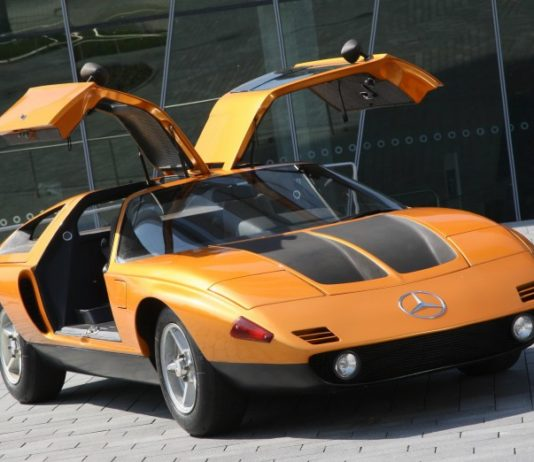 Old Concept cars Mercedes-Benz C111