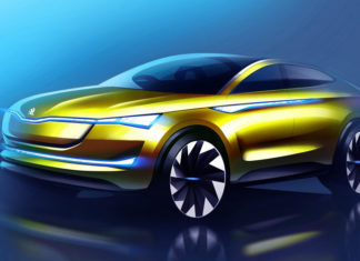 Skoda presents the renewed Vision E Concept