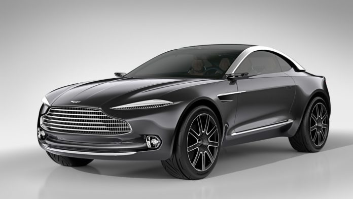 The Aston Martin DBX will be released in 2019