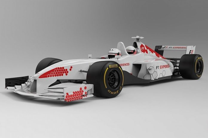 The first images of the renewed two-seater Formula 1 car
