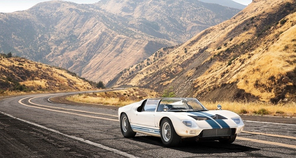The last remaining Ford GT40 Roadster is up for sale