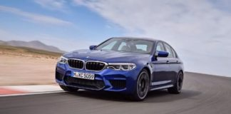 The official pictures of the new BMW M5, were leaked