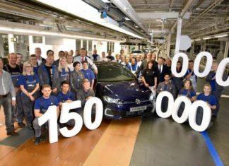 Volkswagen has built 150 million cars