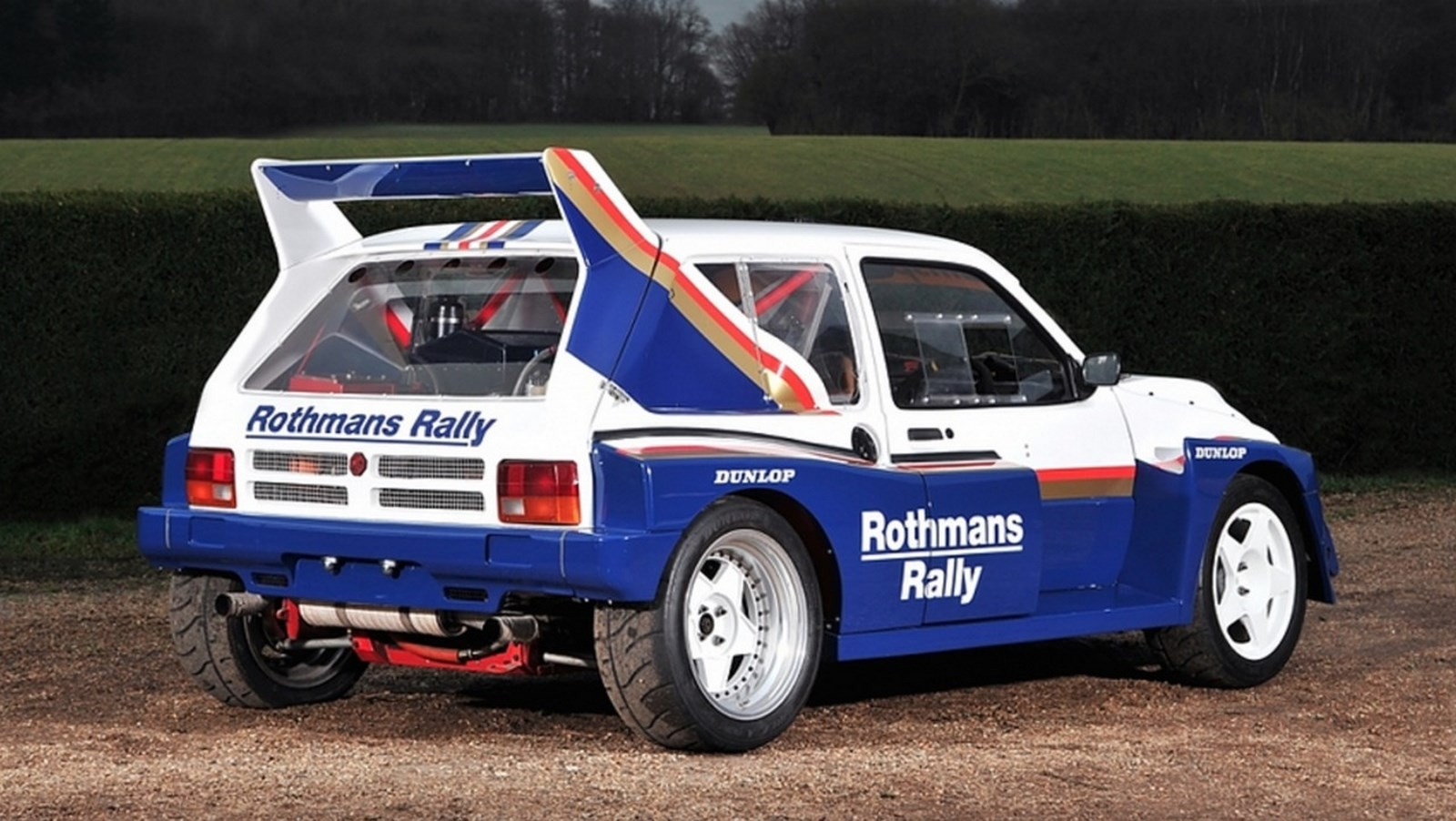 1985 MG Metro Group B Rally Car is heading to auction