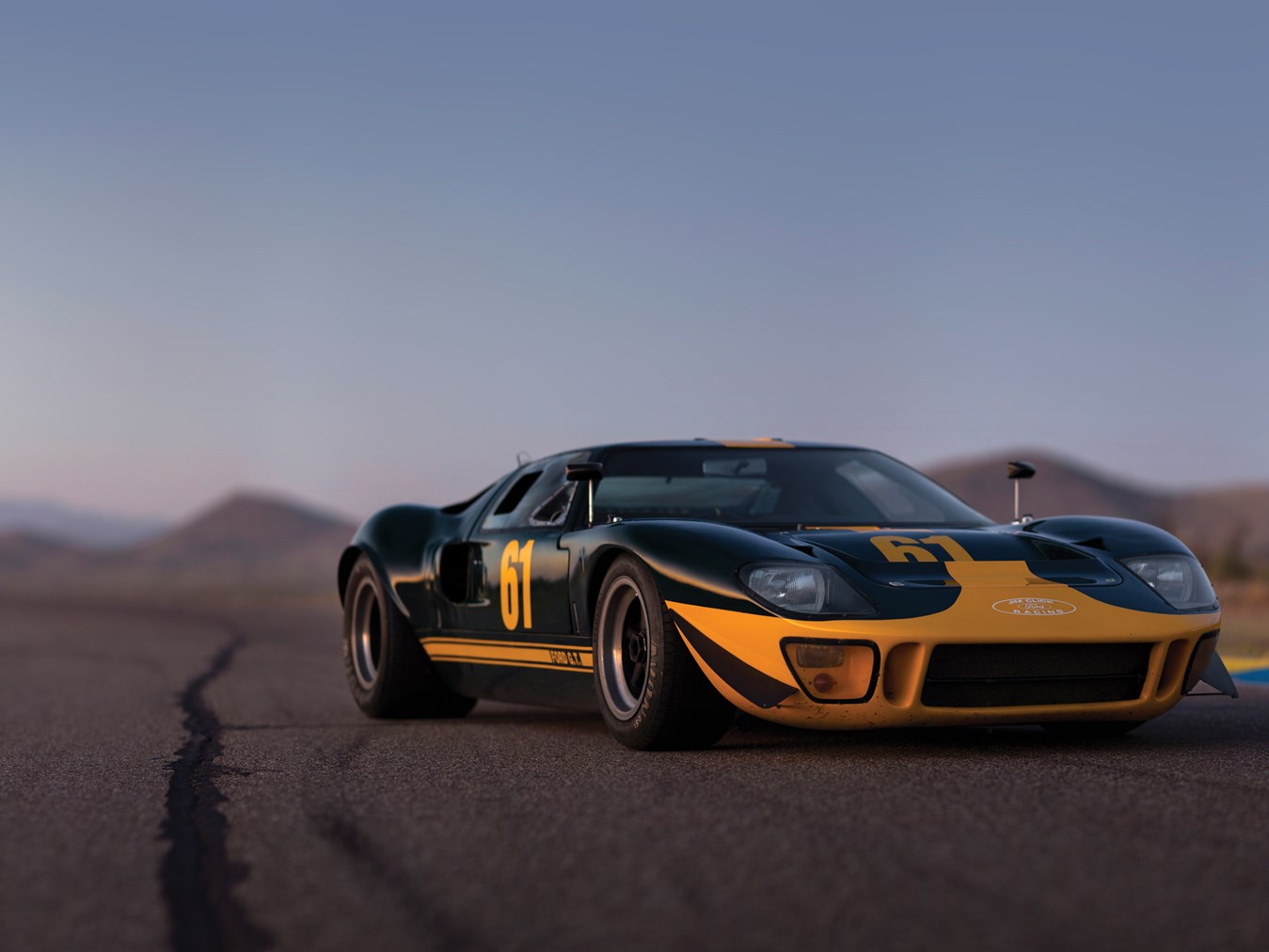 Ray Price Ford >> A rare street-legal Ford GT40 is heading to auction ...
