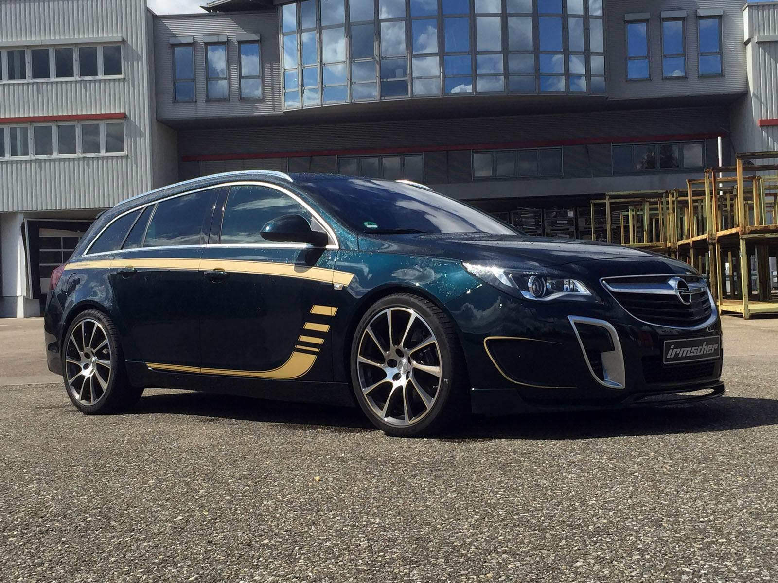 Opel Insignia Opc Sport Tourer By Irmscher